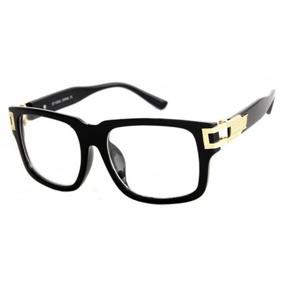 9989e12dc83 Classic Retro Clear Lens Glasses Mariano Square